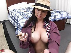 Big Boobs, Handjob, POV