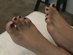 Arab, Foot Fetish, Footjob