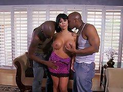 Big Boobs, Brunette, Interracial, MILF