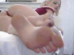 Foot Fetish, Masturbation, Squirt