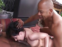 Interracial, Bisexual, Blowjob, Threesome