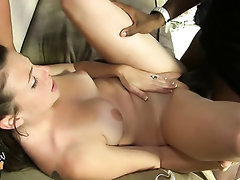 Big Tits, Blowjob, Creampie, Ebony